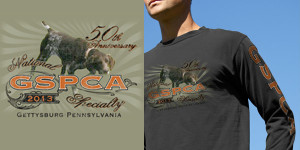 Corporate Images GSPCA 50th Anniversary National Specialty Gettysburg Pennsylvania Shirt