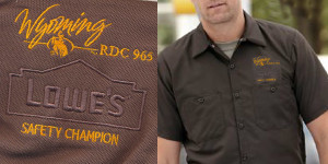 Corporate Images Lowes Wyoming Work Shirt