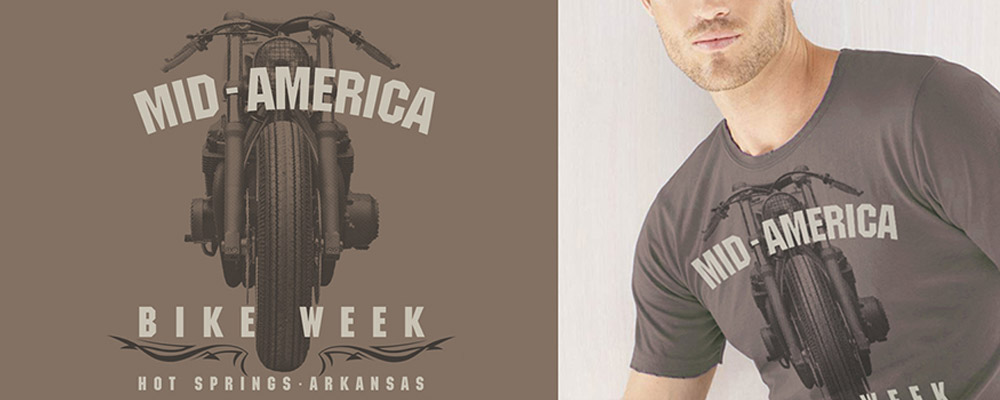Mid America Bike Week Hot Springs Arkansas Tshirt