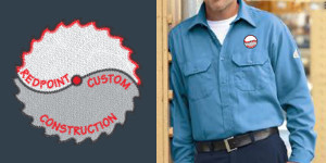Corporate Images Redpoint Custom Construction Work Shirt