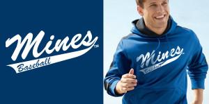 mines baseball hoodie